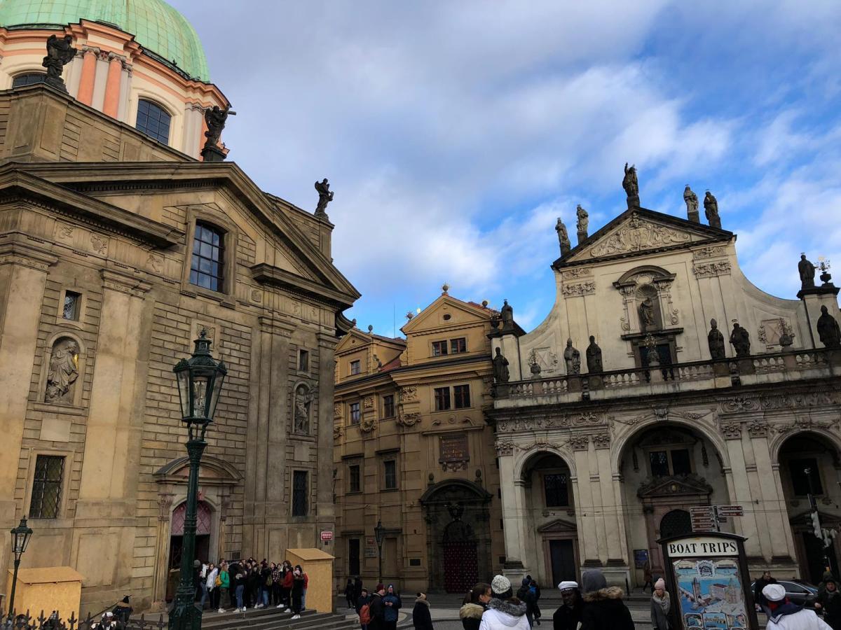 Donde comí en Praga.